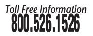 Toll free 800.526.1526